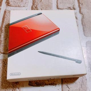 ニンテンドーDS(ニンテンドーDS)のNintendo DS lite 本体 クリムゾン ブラック 極美品(携帯用ゲーム機本体)