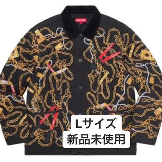Supreme - supreme Chains Quilted Jacket