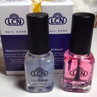 二本セット・LCNダイヤモンドパワー&アンティセプト・新品未使用