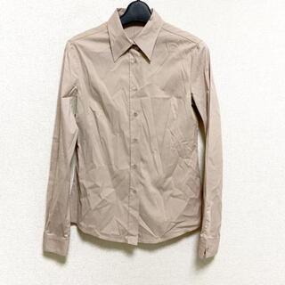 ミュウミュウ(miumiu)のミュウミュウ 長袖シャツブラウス 40 M -(シャツ/ブラウス(長袖/七分))