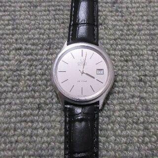 OMEGA - オメガ QZ デヴィル デイト ラウンド   メンズ腕時計  ジャンク