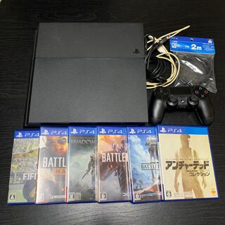 PS4 本体 ソフト まとめ売り(家庭用ゲーム機本体)