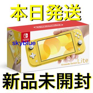 ニンテンドースイッチ(Nintendo Switch)のNintendo ニンテンドースイッチ イエロー(携帯用ゲーム機本体)