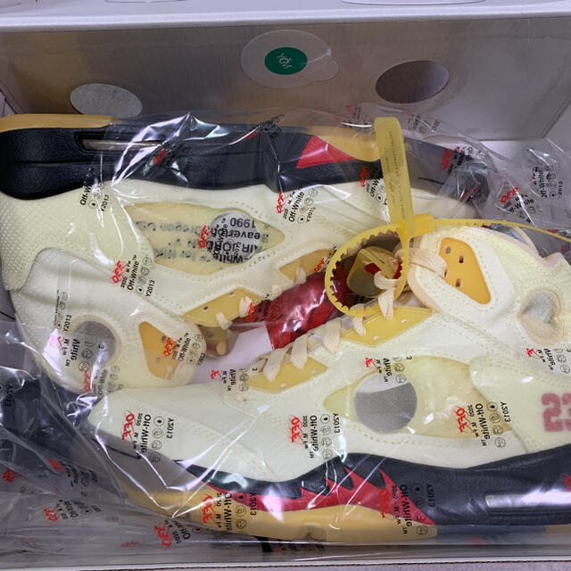NIKE(ナイキ)のエアジョーダン5 SAIL OFF WHITE 26.5㎝ メンズの靴/シューズ(スニーカー)の商品写真
