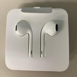 アイフォーン(iPhone)のiPhone 純正イヤホン 変換アダプター 未使用(ヘッドフォン/イヤフォン)