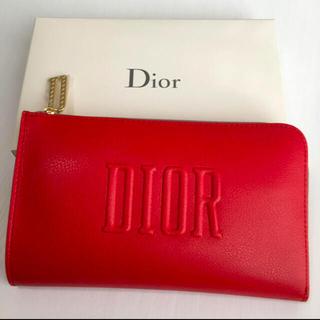 Dior - ディオール オリジナルポーチ レッド 新品未使用