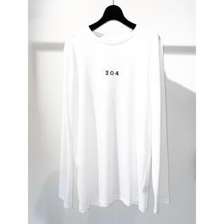 大特価!新品未使用!304 刺繍 バッグライン ロンT(Tシャツ/カットソー(七分/長袖))