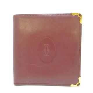 カルティエ(Cartier)のカルティエ 2つ折り財布美品  マストライン(財布)