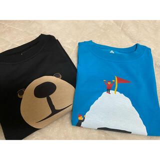 mont bell - モンベル キッズ UVカット付き 半袖Tシャツ