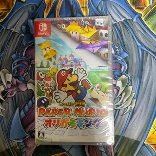 ニンテンドウ(任天堂)の新品 未開封 ペーパーマリオ オリガミキング Switch  ソフト(家庭用ゲームソフト)