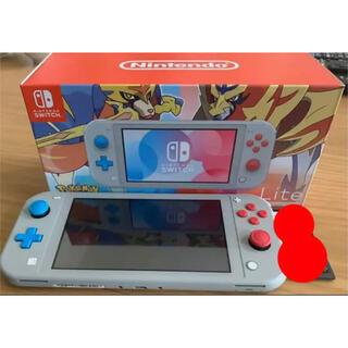 ニンテンドースイッチ(Nintendo Switch)のニンテンドースイッチライト ザシアン ザマゼンタ(携帯用ゲーム機本体)