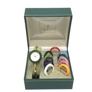 Gucci - グッチ チェンジベゼル 12色 腕時計 11/12.2 マルチカラー