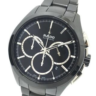 ラドー(RADO)のラドー ハイパークローム 腕時計 R32275152 ブラック(腕時計(アナログ))