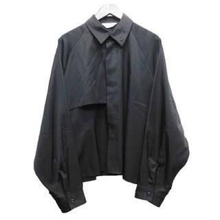 Jieda - 【JieDa】20ss black trench-shirt(20日まで掲載)