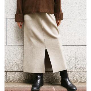 LOWRYS FARM - 【新品タグ付き】Lowrysfarm  ウールコンニットスカート