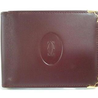 カルティエ(Cartier)のカルティエ 札入れ美品  マストライン(財布)