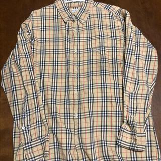 バーバリー(BURBERRY)のBURBERRY 長袖 チェックシャツ(シャツ)