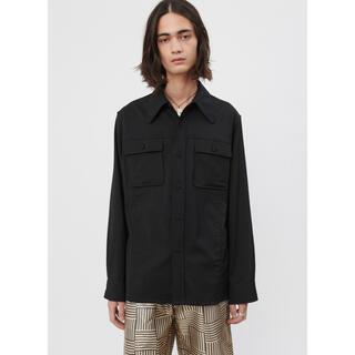 Maison Martin Margiela - 【美品】our legacy 20ss shirt black