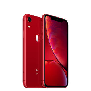 アイフォーン(iPhone)のiPhoneXR Red 128GB(スマートフォン本体)