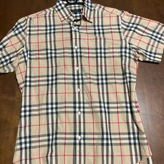 バーバリー(BURBERRY)のBURBERRY 半袖 チェックシャツ(シャツ)