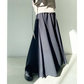 L'Appartement DEUXIEME CLASSE - 新品■MARK KENLY DOMINO TAN■Long Skirt■ブラック
