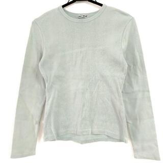 イッセイミヤケ(ISSEY MIYAKE)のイッセイミヤケ 長袖Tシャツ サイズM -(Tシャツ(長袖/七分))