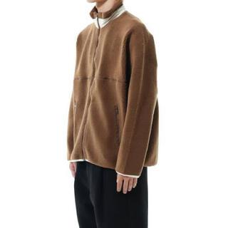 "COMOLI - Graphpaper』""Wool Boa Zip-Up Blouson"""