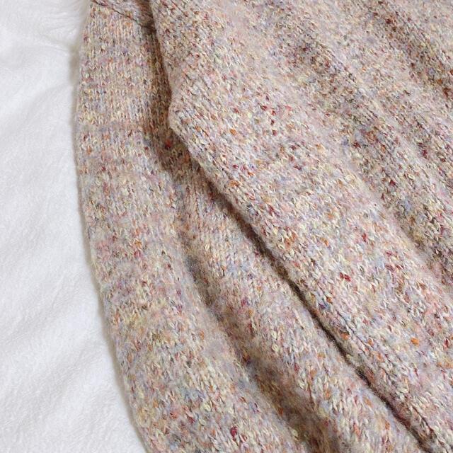 Lily Brown(リリーブラウン)のリリーブラウン ハーフニットプルオーバー レディースのトップス(ニット/セーター)の商品写真