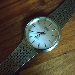 セイコー(SEIKO)の希少レアSEIKO エンブレム メンズクオーツ(腕時計(アナログ))