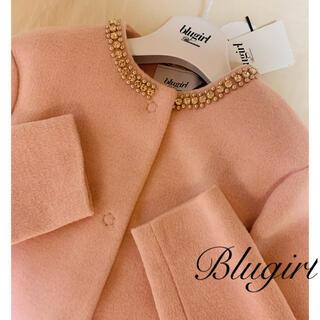 Blugirl - 未使用タグ付き Blugirl♡ ビジューパール装飾コート