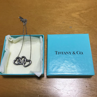 ティファニー(Tiffany & Co.)のTiffany スリーハートネックレス(ネックレス)