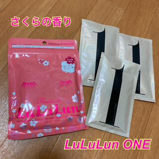 【新品未開封】LuLuLun★Premium★さくらの香り★ルルルンワン★ONE