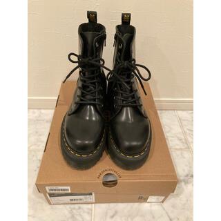 ドクターマーチン(Dr.Martens)の◾︎ Dr.Martens R15265001 JADON 8ホール BL 厚底(ブーツ)