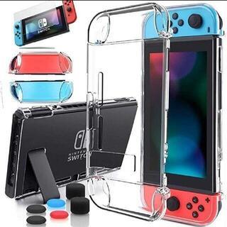 NintendoSwitch アクリル保護カバー クリアケース Switchカバ(家庭用ゲーム機本体)