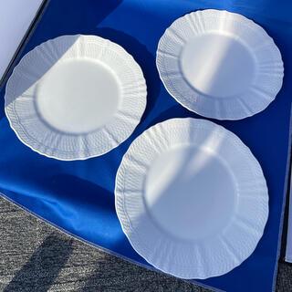 ノリタケ(Noritake)の【美品】ノリタケ シェールブラン プレート 3枚 28cm 大皿(食器)