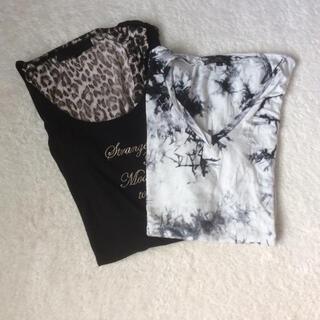 ジャックローズ(JACKROSE)の【JACKROSE Luv maison】アンサンブル風タンクトップ Tシャツ (Tシャツ/カットソー(半袖/袖なし))