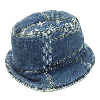 ルイヴィトン(LOUIS VUITTON)のルイヴィトン NIGOコラボ 帽子 MP2733 ボネ ダミエ ジャイアント(ハット)