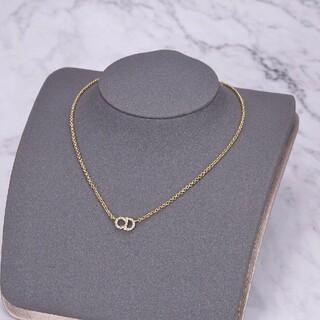 ディオールChristian Dior ネックレス ゴールド