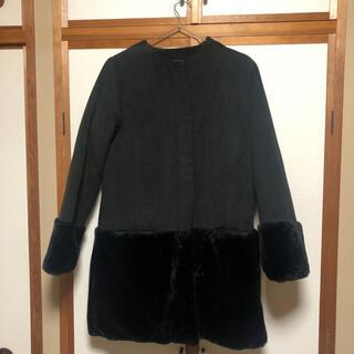 ムルーア(MURUA)のMURUA ムルーア コート アウター ブラック 黒(その他)