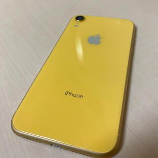 Apple - iPhone XR 64GB イエロー 電池100% 美品 訳有り 中古