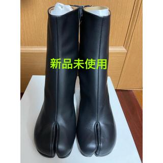 マルタンマルジェラ(Maison Martin Margiela)のMaison Margiela 足袋ブーツ ブラック サイズ37(ブーツ)