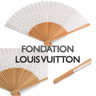 LOUIS VUITTON - ルイヴィトン美術館 フォンダシオン 扇子