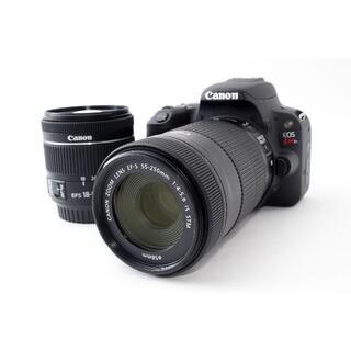 キヤノン(Canon)の❤大人気ダブルズーム!Wi-Fi搭載❤Canon Kiss X9 ブラック(デジタル一眼)