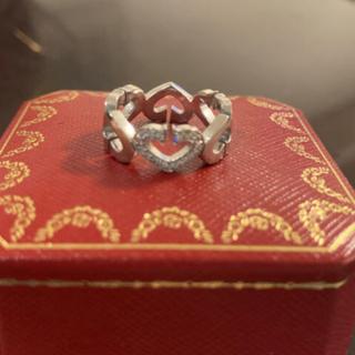 カルティエ(Cartier)のcartier カルティエ/Cハートダイヤリング(リング(指輪))
