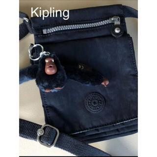 キプリング(kipling)のキプリング ポシェットショルダーバッグ 紺(ショルダーバッグ)