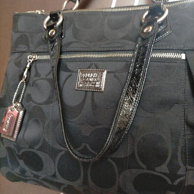COACH(コーチ)の最終値下げ♡早い者勝ちですょ✩.*˚ コーチ COACH BIGトートバッグ  レディースのバッグ(トートバッグ)の商品写真