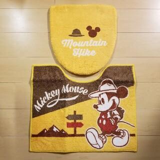 ディズニー(Disney)のミッキー トイレマット セット(トイレマット)