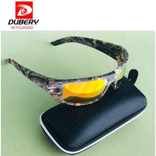 DUBERY サングラス 偏光グラス UV400 軽量 車  釣り アウトドア(サングラス/メガネ)