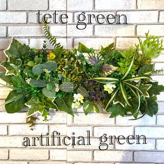 壁掛けフェイクグリーン ウォールグリーン 光触媒
