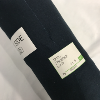 rieee様専用】布地生地裏地3M no.356 ザローン濃紺2mグレーベージュ(生地/糸)